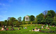 Parques em Munique #viajar