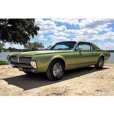 from @american_muscle_247 -  1968 Mercury Cougar owned by @oldgreencar  #Ford  #Mercury #MercuryCougar #Cougar #pin #twitter - #regrann