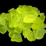 lemon sea glass - this would be an awesome find!