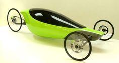 Human-powered electrical racing vehicle by Ivan Vela