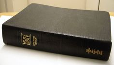 Vintage King James Version Bible Church of Jesus Christ LatterDay Saints Mormon