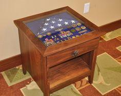 Military Retirement Shadow Boxes | Military Shadow Box Table Part II - by woody1492 @ LumberJocks.com ...