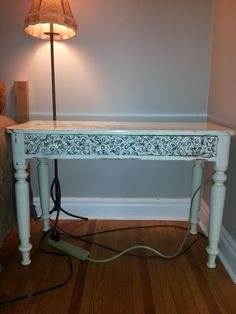 Foyer table after Foyer, Entryway Tables, Painted Furniture, Projects, Painting, Home Decor, Log Projects, Homemade Home Decor, Painting Art