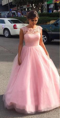 Backless Pink Prom Dress,Long Prom Dresses,Charming Prom Dresses,Evening