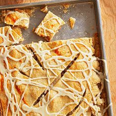 Five-Spice Pear Pie Bars From Better Homes and Gardens, ideas and improvement projects for your home and garden plus recipes and entertaining ideas.