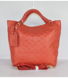 Louis Vuitton monogram embroidered leather bag
