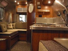 vintage airstream and other classic travel trailers