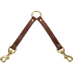 Mendota Products Leather Two Dog Coupler Leash, 3/4-Inch by 13-Inch, Chestnut * You can find out more details at the link of the image. (This is an affiliate link and I receive a commission for the sales)
