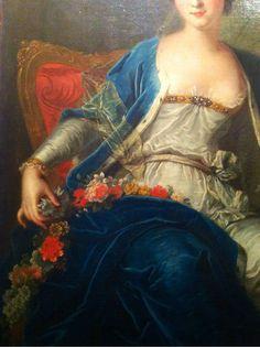 Portrait de Mlle de Sallé, Louis-Michel van Loo (1771)