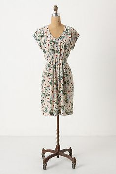 Bought this dress for an evening out later this month (October). Paired w/a gray cardigan + tights, it's a great fall outfit. :)