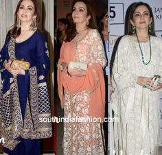 Nita Ambani's stunning anarkalis from the LFW 2015!