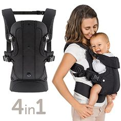 Porte bébé ergonomique   Multiposition 4 en 1 - ventral, dorsal, vue  variable   c261bb79e18