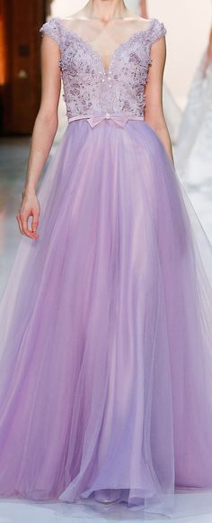 Georges Hobeika - the embellishments touching my arms would drive me nuts, but this is very pretty