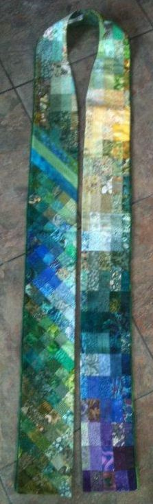 green stole: In Stitches Center for Liturgical Art 1- 888-683-7074