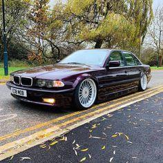 BMW E38 Bmw E30, Bmw Vintage, Slammed Cars, Bmw Classic Cars, E 38, Bmw 7 Series, Old School Cars, Audi Cars, Custom Cars