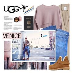 """""""The New Classics With UGG: Contest Entry (Ugg Travel III)"""" by pianogirlzoe ❤ liked on Polyvore featuring MANGO, Chicnova Fashion, Mother of Pearl, UGG, Royce Leather, Poketo, ugg, uggaustralia and uggtravel"""