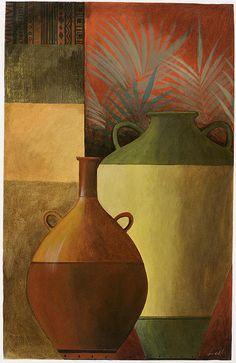 Chinese Urn 1 Canvas Print / Canvas Art by Pablo Esteban