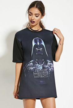 Star Wars Darth Vader Graphic Tee | Forever 21 - 2000182942