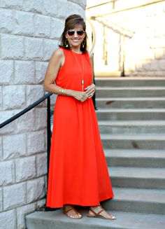 22 Days of Summer Fashion-Maxi Dress