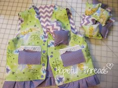 Hopeful Threads: Pattern Review - Weighted Vest by Ladybug Bend