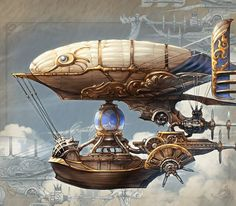 ronbeckdesigns steampunk airship transportation design concept art You observe this can flourish for any site, Steampunk Ship, Steampunk Design, Steampunk Costume, Steampunk Fashion, Gothic Fashion, Steampunk Drawing, Steampunk Outfits, Steampunk Mask, Steampunk House