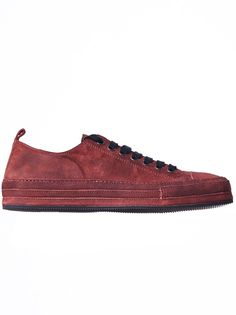 4a2a90650425 ANN DEMEULEMEESTER - Low-Top Soft Sole Sneaker - 1612-4210-354-034