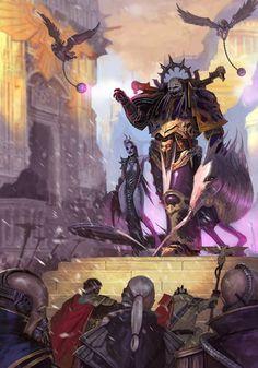 Emperor's Children Champion and Slaanesh Pleasure Cult