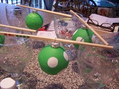 paint your own ornaments, a fun family project!