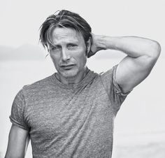 Mads Mikkelsen by Peter Lindbergh for T Magazine