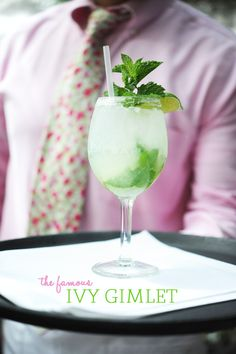 The Ivy Gimlet