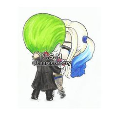 The Joker  Harley Quinn #SuicideSquad