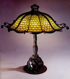 For the sunroom, overlooking the water -- the Tiffany Octopus Lamp