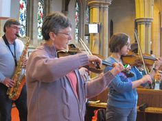 Strings and woodwind players in worship http://www.musicademy.com/info/orchestral-instruments-in-worship/
