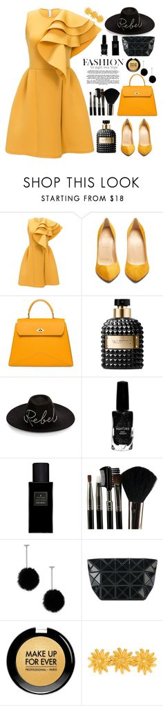 """New year wish list"" by rosegal-official ❤ liked on Polyvore featuring Christian Louboutin, Ballantyne, Valentino, Eugenia Kim, Azature, Yves Saint Laurent, Glamour Status, Tuleste, Bao Bao by Issey Miyake and MAKE UP FOR EVER"