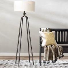 """Elfrieda 61"""" Tripod Floor Lamp"""