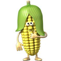 Sticker Légumignon maïs