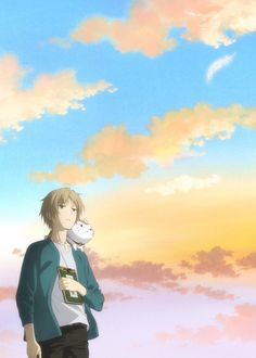 The anime series based on Yuki Midorikawa's Natsume Yujin-cho/Natsume's Book of Friends fantasy manga celebrates its anniversary this year. Manga Anime, Anime Art, Natsume Takashi, Hotarubi No Mori, Friend Anime, Barakamon, Natsume Yuujinchou, Anime Films, Trailer
