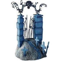 nightmare before christmas still shots of movie | Nightmare Before Christmas: 2008 Series 1 Dioramas: Graveyard Gate ...