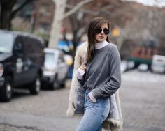turtleneck outfit street style
