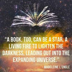 A quote from the lovely author of A Wrinkle In Time