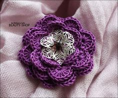 [Reserved] [share] Crochet Corsage
