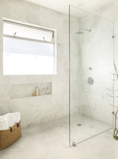 Montage: Walk in Showers with Frameless Glass Partitions | StyleCarrot