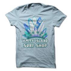 Amity Island Surf Shop T-Shirt Hoodie Sweatshirts eoo. Check price ==► http://graphictshirts.xyz/?p=44890