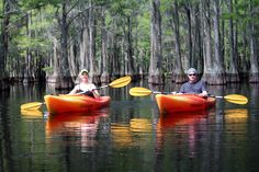 Adventure Dates for Active Couples  Pictured: Mill Pond Kayak