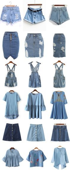 Denim Fashion - Searching more amazing pieces at http://Romwe.com