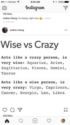 I'm Aries and this is true for me