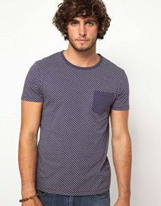 Enlarge ASOS T-Shirt With Polka Dot Print