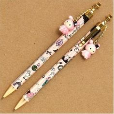 Sentimental Circus - Mechanical Pencils with Shappo Charms