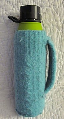 How to make a water bottle holder