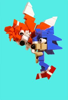 LEGO Sonic & Tails   Flickr - Photo Sharing!